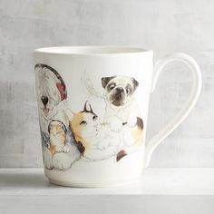 Cats and Dogs Family Mug