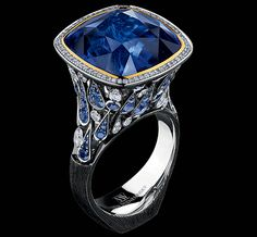 Art stones high jewellery Ring