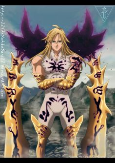 Pin by Amber on Geeky stuffz t Kingdom Hearts Kingdom Anime Seven Deadly Sins, 7 Deadly Sins, Otaku Anime, Anime Guys, Manga Anime, Demon King Anime, Dark Souls Art, Seven Deady Sins, Soul Art