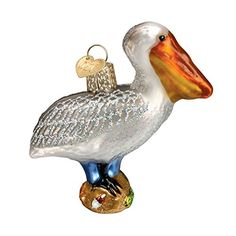 Old World Christmas Pelican Glass Blown Ornament Old Worl…