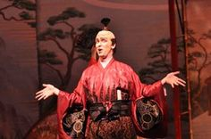 Virginia Opera ends season with delightful 'Mikado'.  Bass Kevin Burdette as Ko-Ko.