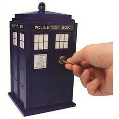 Doctor Who Tardis Safe Bank.