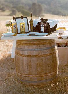 olive oil tasting station?!