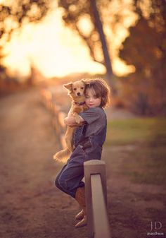 A Boy & His Dog by Jessica Drossin on 500px