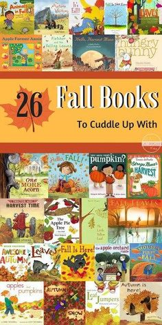 26 Fall Picture Books to Cuddle Up With - great book recommendations for families to read together this fall. This book list includes many favorite books for toddler, preschool, and kindergarten age kids Fall Preschool Activities, Toddler Preschool, Preschool Learning, Halloween Books, Fall Halloween, Toddler Books, Childrens Books, Kid Books, Fall Facts