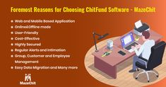 MazeChit is a complete ERP software for your chit company, that simplifies all your chit fund activities without any hassle. Here are the top reasons for choosing chit fund software-MazeChit For more details about ChitFund Software-MazeChit reach us at / Data Migration, Online C, Fund Management, Mobile Application, Software, Activities, Top, Crop Shirt, Shirts