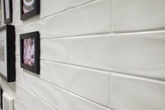 Discount Glass Tile Store - New Yorker - Matte White x (Hand Made Look)… Glazed Ceramic Tile, Ceramic Wall Tiles, Subway Tiles, Mold In Bathroom, Bathrooms, Bathroom Ideas, Basement Bathroom, Bathroom Designs, Gourmet