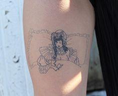 jess chen tattoo - @__jesschen__ Dream Tattoos, Cool Tattoos, Awesome Tattoos, Tatoos, Chen, Aubrey Beardsley, Tattoo Portfolio, Hand Poke, Body Is A Temple