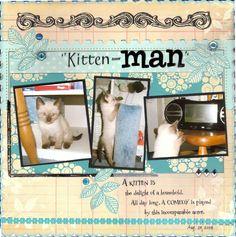 Kitten-Man
