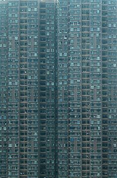 blocks of flats in HK