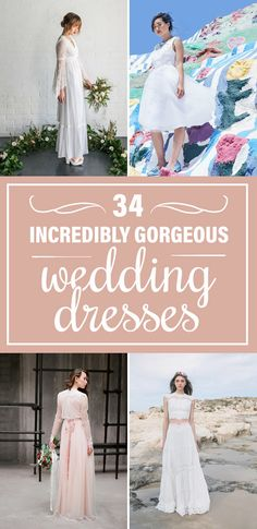 Pretty wedding dresses for 2016 and 2017!