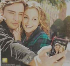 Gossip girl. Chuck and Blaire. I want a relationship like this.
