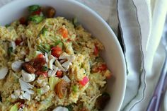 Curried Couscous Chicken Salad