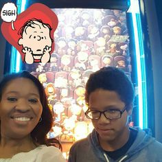 The #Peanuts Movie was excellent!! I heard my mom laughing.