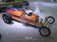 """Dragula - Built for """"The Munsters"""" by George Barris."""