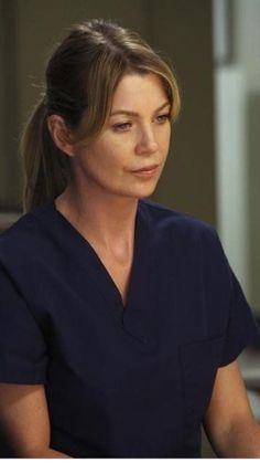 Meredith Grey Hair, Ellen Pompeo, Tv, Television Set, Television, Tvs