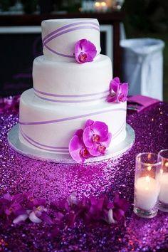 purple orchid beach wedding - Google Search