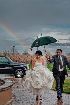 if there is a rainbow on my wedding day, i will be the happiest girl in the world!!