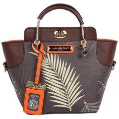 Nicole Lee ILSE PALM TREE PRINT MINI BAG: Handbags: Amazon.com ($76) ❤ liked on Polyvore featuring bags, handbags, nicole lee handbags, nicole lee bags, mini purse, nicole lee and hand bags