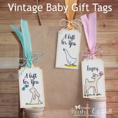 Heather Campbell for Avery Elle using Gift Tags clear stamp set and Elle-ments dies, Storybook stamps