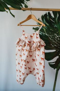 Wild Thing Playsuit by CharlieBirdKid on Etsy