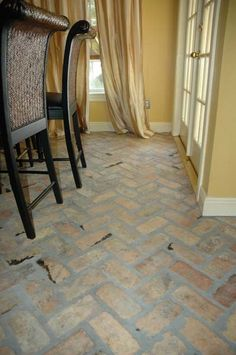 Photo Albums - Antique Brick Floor Tile