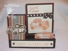 did a side step card for my father's day card.  stamping sue  http://stampingsueinconnecticut.blogspot.com/
