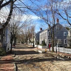 Cobblestone strolls for the weary souls.on Nantucket - the island NEVER disappoints!!!