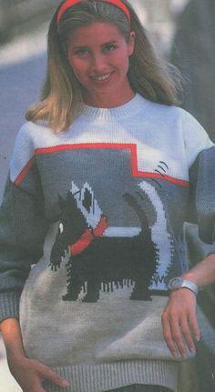 Пуловер с собачками. Обсуждение на LiveInternet - Российский Сервис Онлайн-Дневников