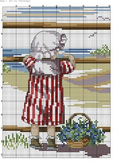 All Our Yesterdays Cross Stitch Sea, Butterfly Cross Stitch, Cross Stitch For Kids, Cute Cross Stitch, Cross Stitch Charts, Cross Stitch Designs, Cross Stitch Embroidery, Embroidery Patterns, Cross Stitch Patterns