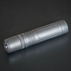 The Muyshondt Flieger is a powerful and elegant gentleman's flashlight that will light your way.   This frosted (bead blast) Ti finish is exclusively available through us in limited supply. #UrbanEDCSupply