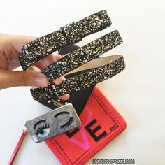 """Kate Spade Glitter Bow Belt Super cute Kate Spade Glitter Bow Belt in gun metal. New without tags. Leather, Size L 38"""" Length. Getting ready for holiday! ♠️♠️♠️ #second picture belongs to bowsandsequins.com kate spade Accessories Belts"""