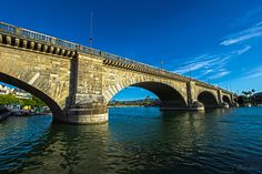 London Bridge was falling down, so it got relocated to Lake Havasu City, Ariz. No, really. It is the very London Bridge built in 1831 that once sat astride the Thames across the pond. But by the mid-20th century, it could no longer handle the load of London's traffic and got auctioned off to an Arizona oil baron — he spent $2,460,000 on the bridge and then an extra $7 million to have it dismantled and reconstructed in Lake Havasu City in 1971.