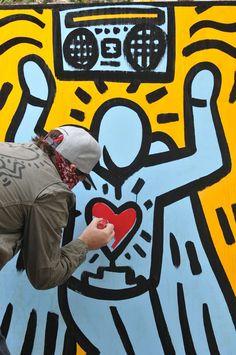 keith haring make art Kenny Scharf, Birth And Death, Street Culture, Keith Haring, Graffiti Art, American Artists, Pop Art, Opera, Literature