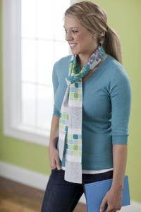 matching scarves set @allpeoplequilt.com