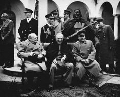 Agan Harahap - Yalta conference 1945 - Galerie Sakura