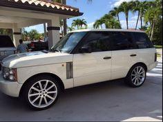 2004 Land Rover Range Rover HSE Range Rovers, Range Rover Sport, Range Rover White, Range Rover Supercharged, Best Suv, Car Shop, Dream Cars, Porsche, Ali