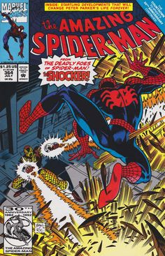 The Amazing Spider-Man #364 - July 1992