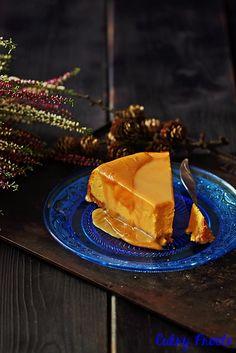Sernik dyniowy z kajmakiem/ Pumpkin Cheesecake with Dulce de Leche #sernik #cheesecake #pumpkincheesecake