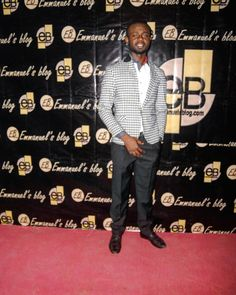 Happy birthday @yateghteghs. He is 1 today. Rocks white and black stripped blazers at #CSC_week 2017 #ebfablook #Emmanuelsblog red carpet #styleblogger  #fashion
