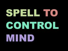 If you want to take full control of a mind of a person then you should cast this spell Money Spells That Work, Spells That Really Work, Real Love Spells, Love Spell That Work, Powerful Love Spells, Wicca Love Spell, Love Spell Chant, Wish Spell, Witchcraft Spell Books