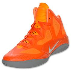 The Nike Hyperfuse 2011 Supreme men's basketball shoes.