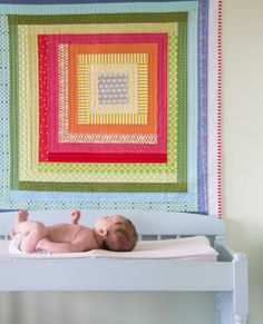 The Color Block Quilt Growing Up Modern