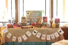 Longshadow ranch and winery.  Used mason jars for our guests to fill up with candy as our wedding favor. Rustic candy bar.