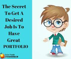 Are You Still Showing Your #Portfolio Offline Make It #Online... Visit here : https://goo.gl/E7GOCc