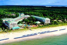 The Westin Hilton Head Island Resort & Spa, South Carolina. Historic Port Royal Plantation resort with three Port Royal championship golf courses. #SPG, #travel, #memberfav