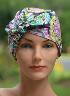 Scrub Hats For Women  TOP TIE CONVERTIBLE  Boho by thehatcottage, $12.99