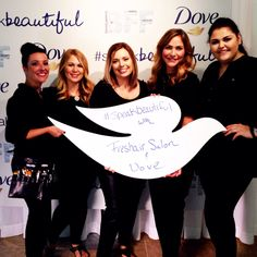 #speakbeautiful with #freshairsalon and #dove #BvilleFilmFest #BeOurBFF #freshairfamous #bentonvillear #fayettevilleAr