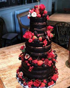 Elegantly Colored Wedding Cakes ❤ #weddingforward #wedding #bride