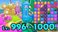Candy Crush Soda Saga - Level 996 - 1000